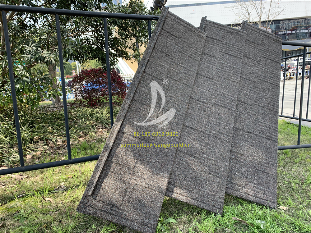 New Product Interlocking Shingle Roof Tiles Introduction