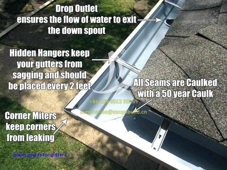 Aluminum gutters have many advantages over other gutter systems