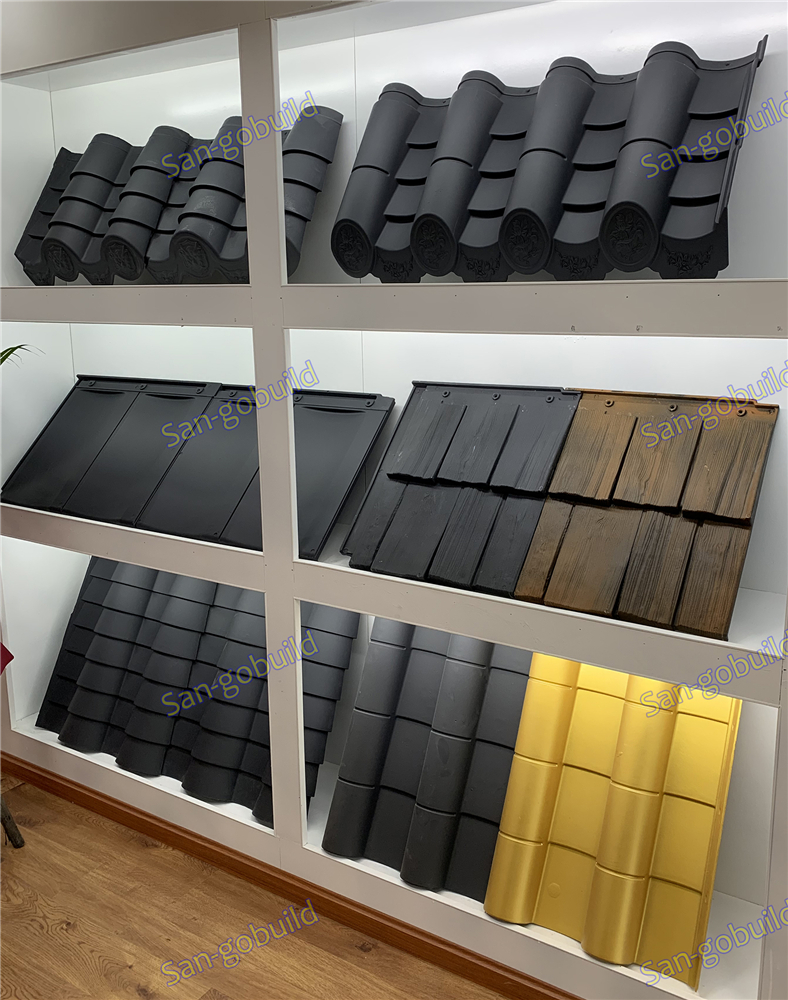 San-gobuild New Product Polyester Shake Tile Introduction