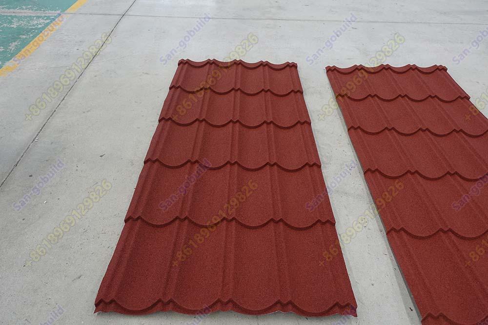 Sangobuild Long Size Stone Coated Steel Roofing Sheet