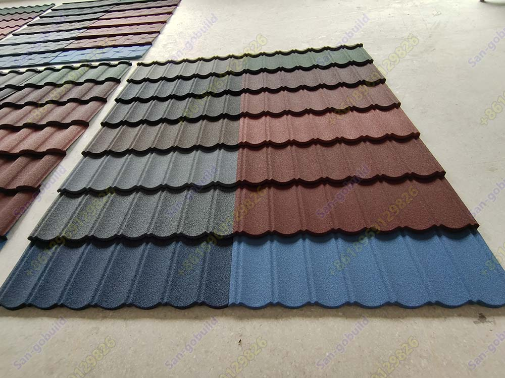 Stone Coated Steel Metal Roofing Sheets
