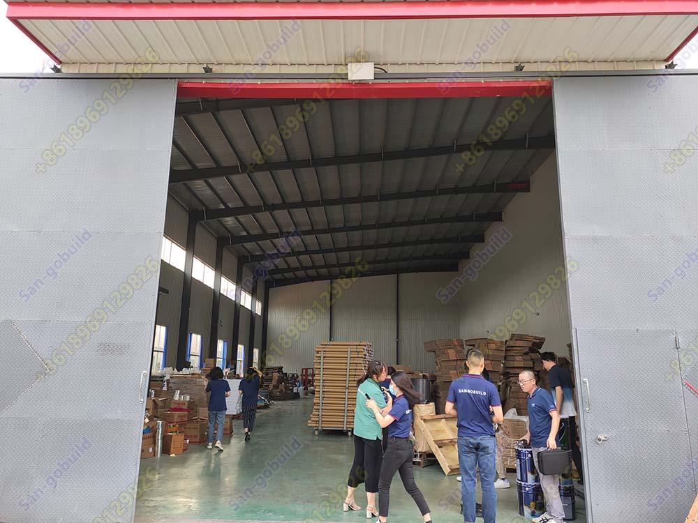 San-Gobuild Team Members Visit Our Butyl Tape Factory in Jinan Province.