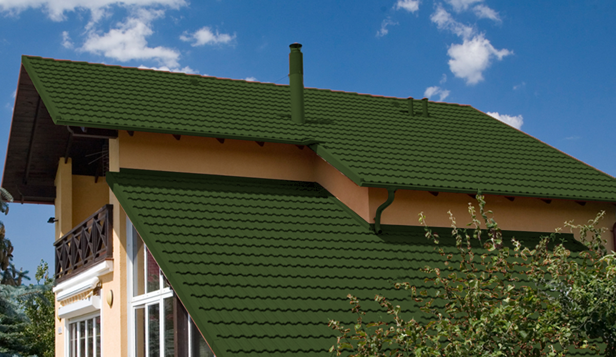 How to choose color stone-coated metal Roof tile