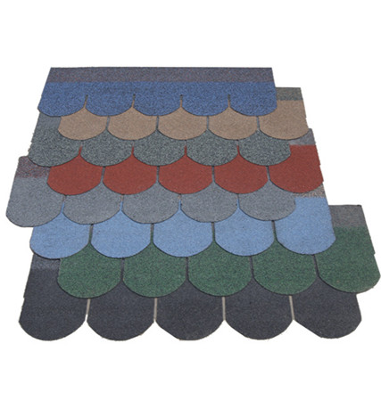 Fish Scale Asphalt Shingle